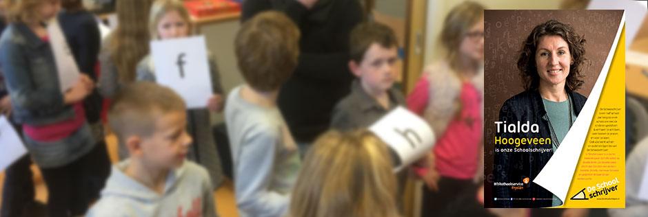 Dit schooljaar ben ik Schoolschrijver op De Claercamp in Gerkeskleaster (Frl).