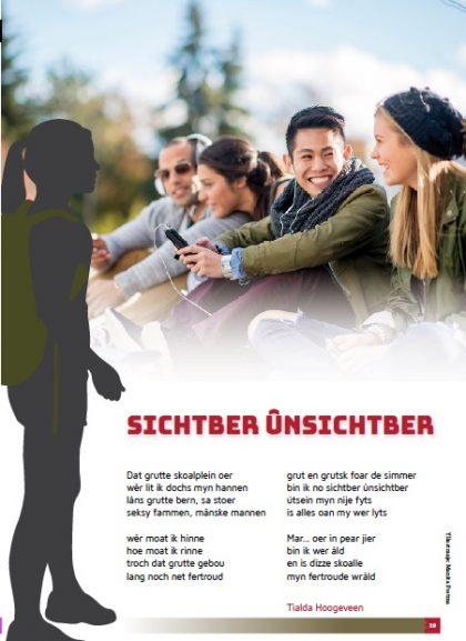 Frysk gedicht: Sichtber ûnsichtber