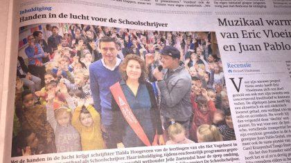 Provinciale aftrap DeSchoolschrijver Friesland