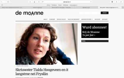'Al moat ik in hânfol grinzen oer, ik kom altyd werom yn Fryslân'